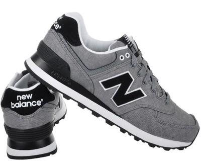 new balance 574 damskie czarno biale