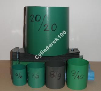 Doniczki Spinane Cylindry 20x20 100szt 5105837290