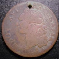 sol 1791 LUDWIG XIV Francja