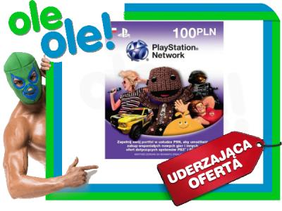 Karta Doladowujaca Sony Playstation Network 100zl 4000676791