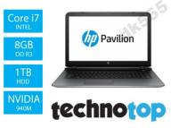 Laptop HP Pavilion 17 i7 FHD 8GB 1TB 940M WIN10