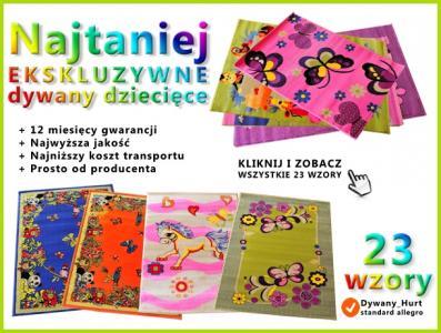 Dywany Dla Dzieci 125x160 Wzory 3d Najtaniej Hit 5090360240