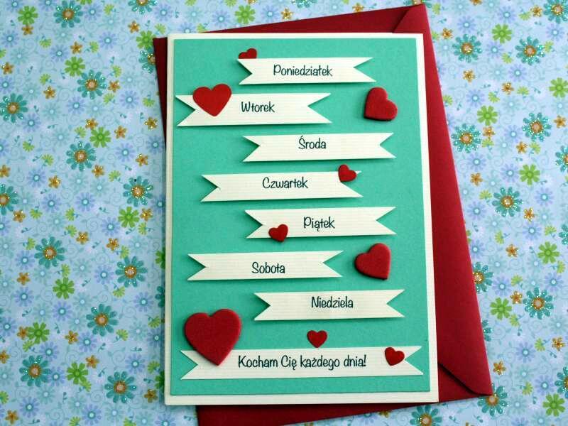 Kartki Miłosne Miłosna Kartka Dla żony Męża 7067902606