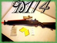M14 Karabin na DWA rodzaje amunicji KARABINY M 14