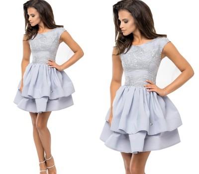 Sukienka Elegancka Rozkloszowana Wesele 403836 6797962759
