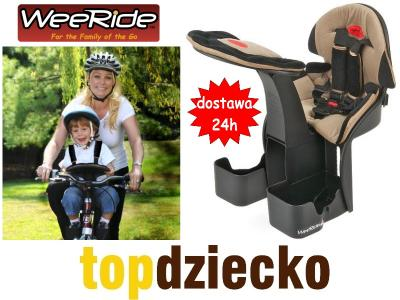 Fotelik rowerowy WEERIDE Kangaroo LTD W-wa GRATISY