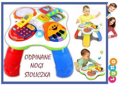 Interaktywny Stolik Edukacyjny 4w1 Język Polski 6318823535