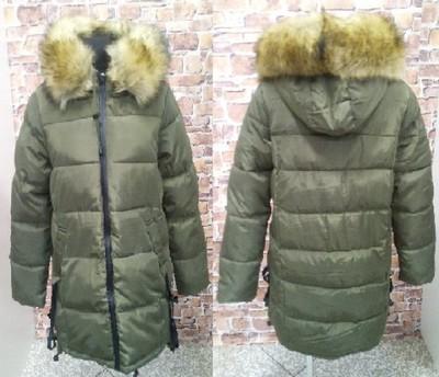 Kurtka damska zimowa LEWANDOWSKA JENOT XL khaki