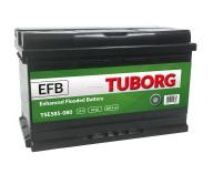 AKUMULATOR TUBORG STARTSTOP EFB 85AH 800A P+