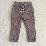 Spodnie materiałowe 92 szare