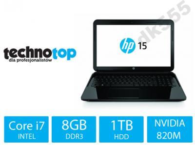 Laptop HP 15 i7-5500U GEFORCE 820M-2GB 8GB 1TB BT