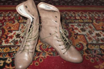 67012f5d8d7c0 Buty damskie kozaczki botki w stylu militarnym r40 - 5891218023 ...