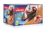 ZESTAW Vileda Easy Turbo mop obrotowy okrągły