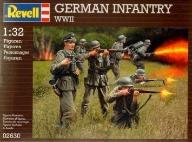 Model do sklejania REVELL Figurki German Infantry