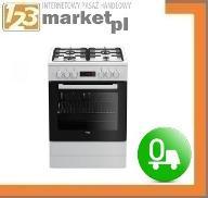 Kuchnia Beko FSE 62320 DW - 6 funk., klasa A, 66l.