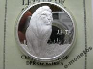 Korea Północna 1500 won LEW certyfikat
