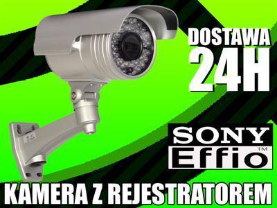Kamera Sony 700 linii REJESTRATOR SD zestaw_CCTV