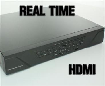 Rejestrator 24 KANALY VIDEO monitoring HDMI AUDIO