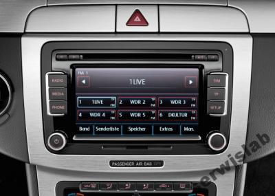 radio rcd 510 vw golf 6 passat jetta t5 caddy eos. Black Bedroom Furniture Sets. Home Design Ideas