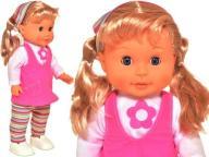 Lalka Chodząca AGUSIA CHODZI ŚPIEWA 40cm 00826 3+