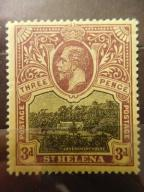 12/9 Kolonie angielskie - St.Helena