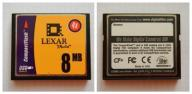 8 MB --- karta CF --- LEXAR --- Made in USA ---