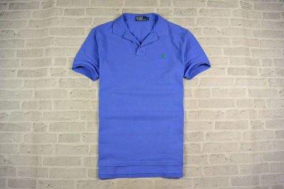 2f6ce75be Polo by Ralph Lauren BŁĘKITNA Koszulka Męska L - 6198252737 ...