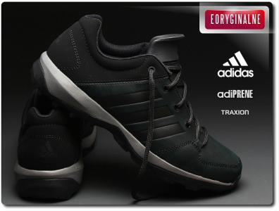 nowy autentyczny style mody najlepsze buty Buty męskie Adidas Daroga Plus Lea B27271 Czarne
