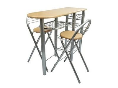 Komplet Stół I 2 Krzesła Do Małej Kuchni Jadalni