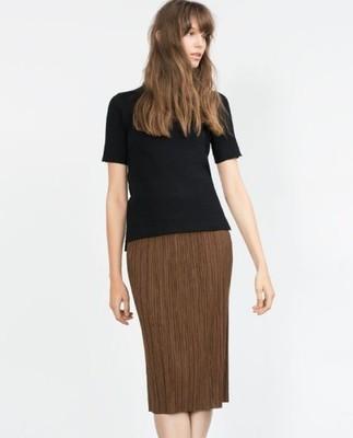 Zara w Spódnice i spódniczki Moda damska na Allegro.pl