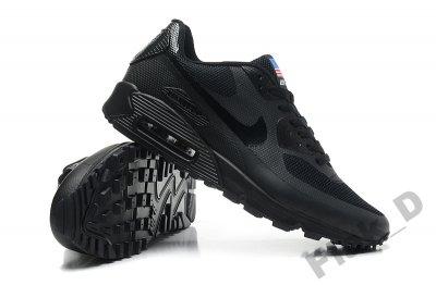 Buty Nike Air Max 90 Hyperfuse USA BLACK, roz. 41