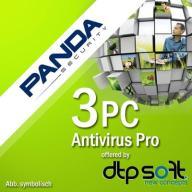 PANDA Antivirus Pro 2017 3 PC 1 ROK FV MULTIDEVICE