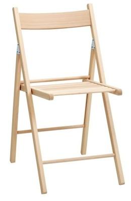 Krzeslo Skladane Z Litego Buku Juvre Jysk 6438781111 Oficjalne Archiwum Allegro