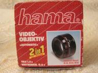 "Foto Video-obiektiv ,,automatik "" Hama 2 in 1"