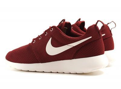 Nike Roshe Run Czerwone Bordowe Biale R 37 5 6074374717 Oficjalne Archiwum Allegro