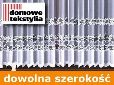 Oriana 250 Cm Firanka Firany Metry Markizeta Biała