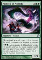 * Nemesis of Mortals! 5/5 i dostaje +5/+5! THEROS