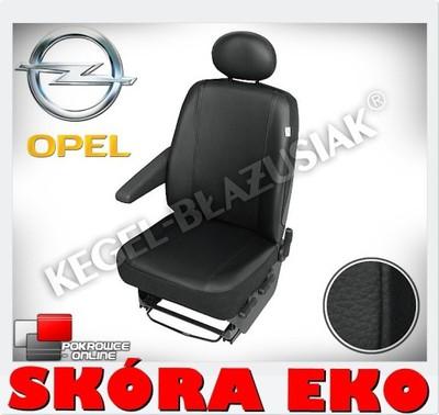 Pokrowce SKÓRA Premium Renault Master od 2010