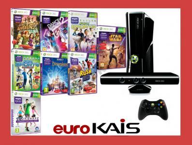 Konsola Xbox 360 250gb Kinect Sports 50 Gier 4047862084 Oficjalne Archiwum Allegro