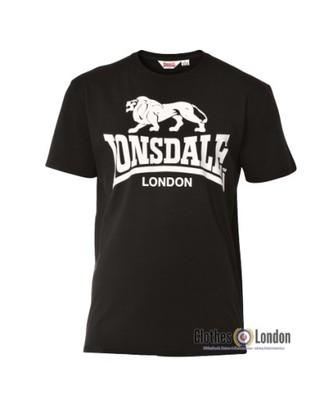 T-Shirt Lonsdale London Classic CAOL czarny XL