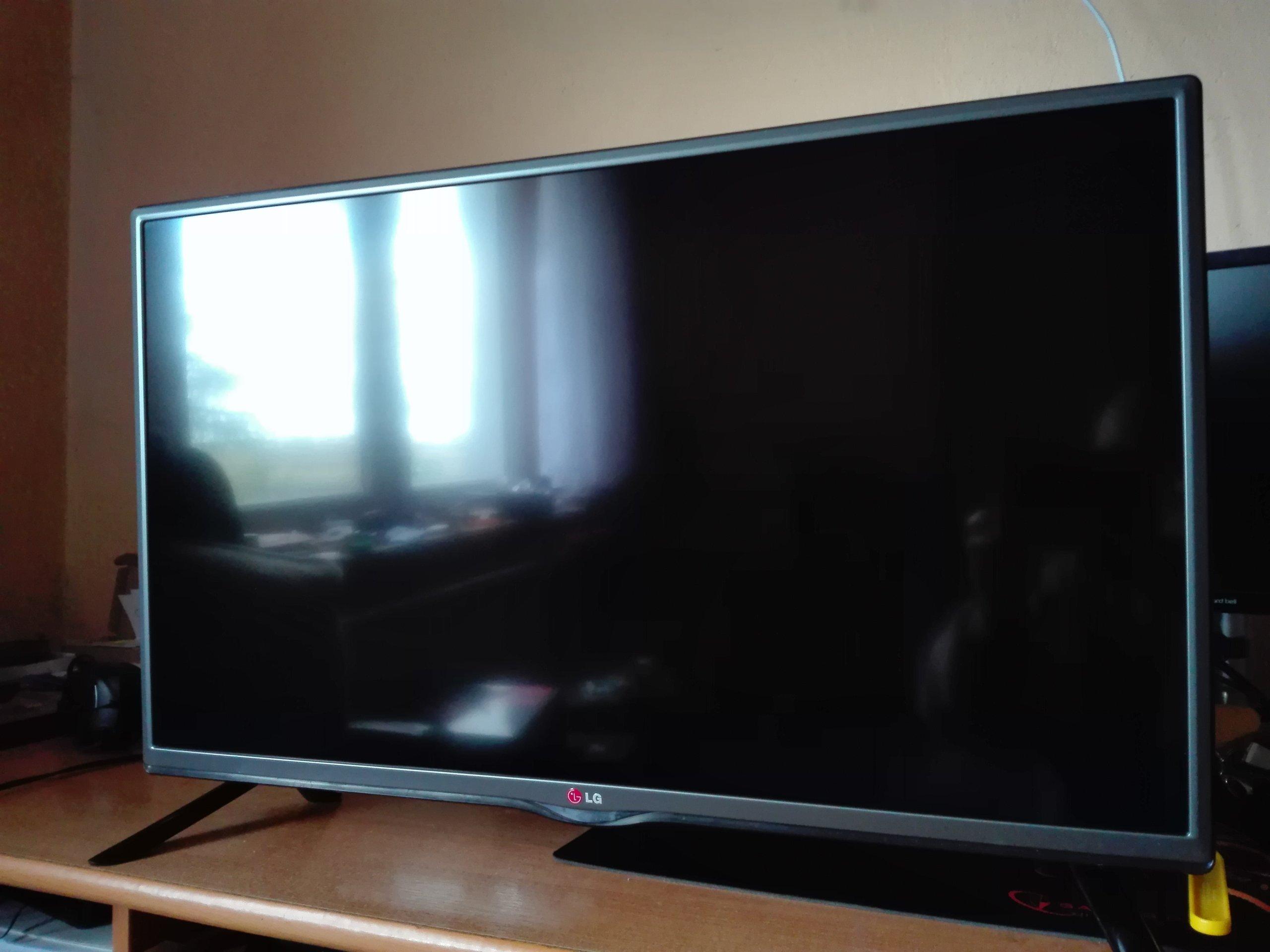 Telewizor 32'' LG 32LB550B brak podświetlenia