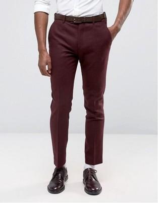 f78 spodnie exASOS eleganckie garniturowe W32 L32