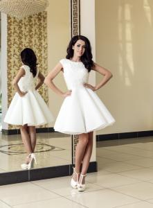 1c87f30668 SUKIENKA suknia ślub cywilny