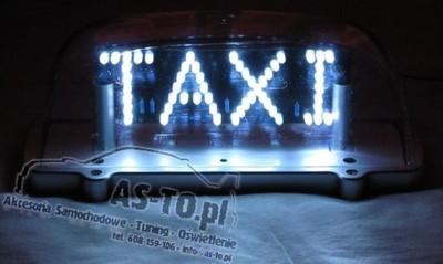 Dodatkowe KOGUT LAMPA TAXI GAPA KLASYCZNA MAGNES DIODOWY LED - 5355418723 MK78