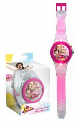 Zegarek świecący na rękę Soy Luna