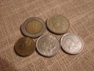 Zestaw monet Filipiny 5 szt.każda inna.