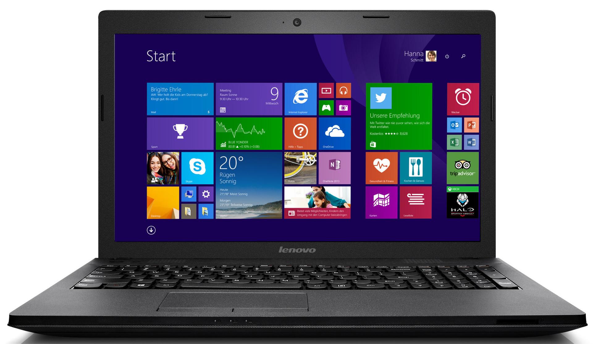 Nowoczesny laptop Lenovo Intel core i5 8GB 1TB