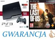 PS3  Slim 500GB +LAST OF US +PAD +GWARANCJA