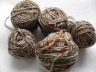 -- WŁÓCZKA  tweed waga 18 dkg