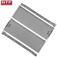 METALBOX NTP METALOWE BOKI SZUFLAD 150x450 SREBRNE